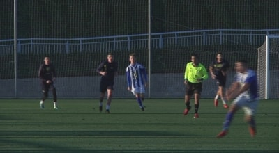 Un equip de la League One anglesa entrena a Salou