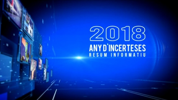 2018. Any d'incerteses